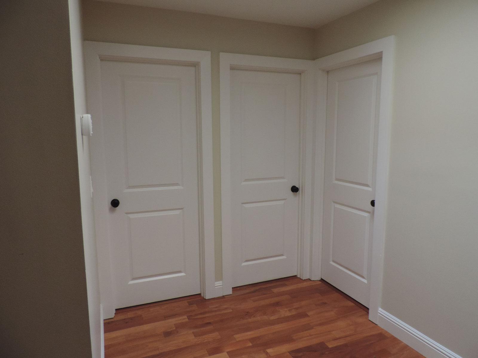 Dave Mason doors & old trim before